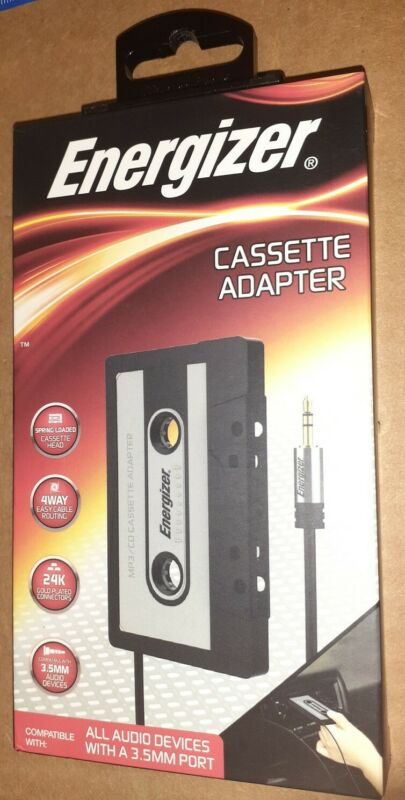Energizer Cassette Adapter ENG-CAST NEW IN BOX!