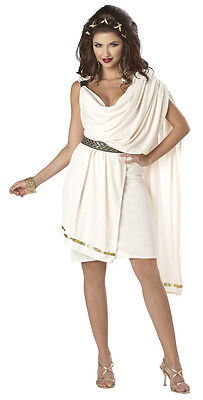 Sorority Deluxe Classic Toga Woman Adult Costume (Toga Costume Women)