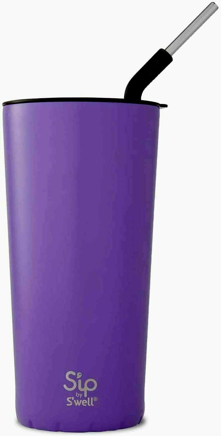 Sip by S'well 24oz Takeaway Hot/Cold Tumbler Stainless Steel