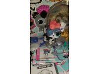 random1Pc LOL Surprise PETS Fuzzy Series FUZZY PETS Kitty Puppy OWL DOG Toy Doll