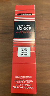Sharp Fax Machine Imaging Film Ux-3cr 1 Roll Genuine Sharp Supply New In Box
