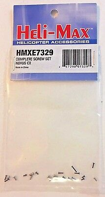 NEW HELI-MAX Complete Screw Set Novus CX HMXE7329