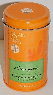 Gardeners Herbal Mint - PALAIS DES THES ARBOR GARDEN FLAVORED HERBAL TEA STRAWBERRY & MINT 90g FRANCE