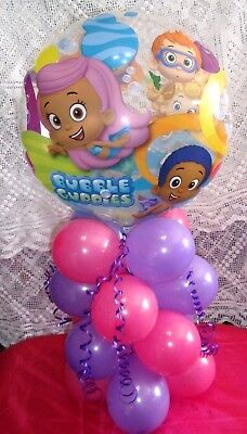 BUBBLE BALLOON TABLE DISPLAY AIR FILL - NO HELIUM - BUBBLE