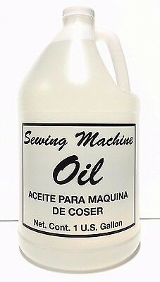 Sewing Machine Oil - Gallon Juki Singer Consew Brother Kenmore Viking