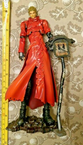 Trigun The Planet Gunsmoke Vash The Stampede Action Figure loose, incomplete