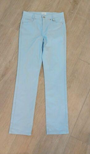 Golfino Ladies SOFIA TROUSERS TECHNO STRETCH 3369325 543 Blue Size 8 NWT $140