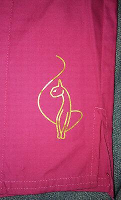 NEW Scrubs * Baby Phat Uniform Scrub Pants * 2X 2XL * Fuchsia Pink - Baby Phat Scrubs Uniformen