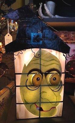 Kurt Adler HALLOWEEN Capiz WITCH Design TABLE Decoration 10-Lt HW1743 NEW](Kurt Adler Halloween)