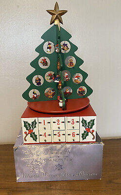 Christmas Musical Advent Calendar Believe In The North Pole By Montgomery Ward