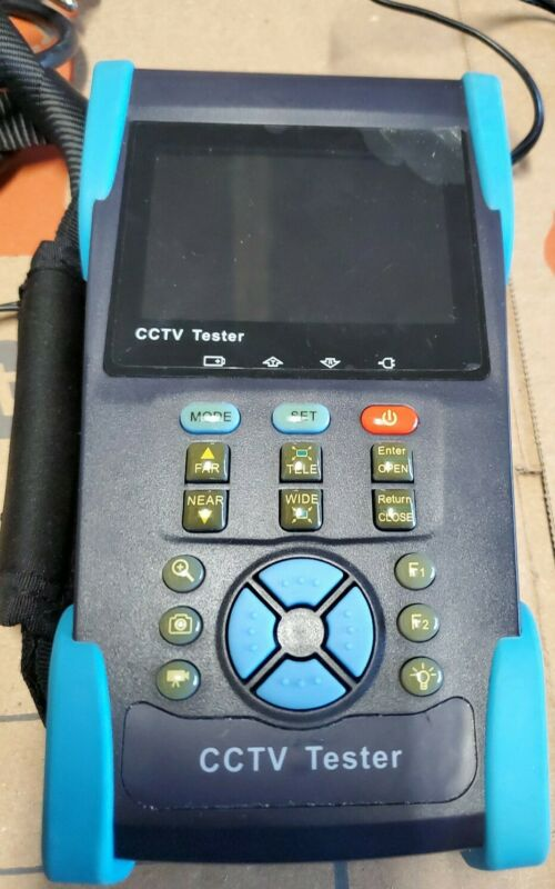 HVT-2601T 3.5 Inch CCTV Tester with TDR Cable Tester/IP Address Search HVT2601T