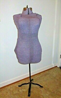 Vintage Dress Form Mannequin Seamstress Dressmaker Display Size 14