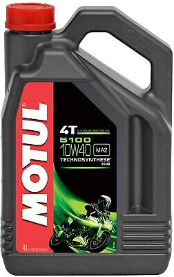 Aceite Motul 5100 10W40 4 litros 100% sintetico