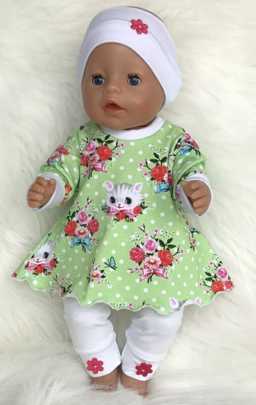 Puppenkleidung * Baby Born * 43 cm * 3 tlg.Set *  NEU * ( ohne Puppe )