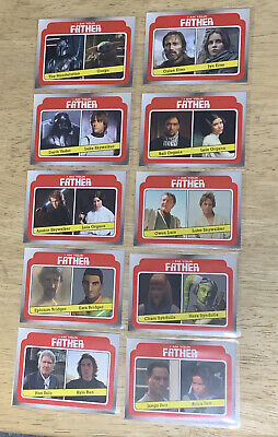 2021 Topps Star Wars Mandalorian Grogu I Am Your Father Complete Card Set
