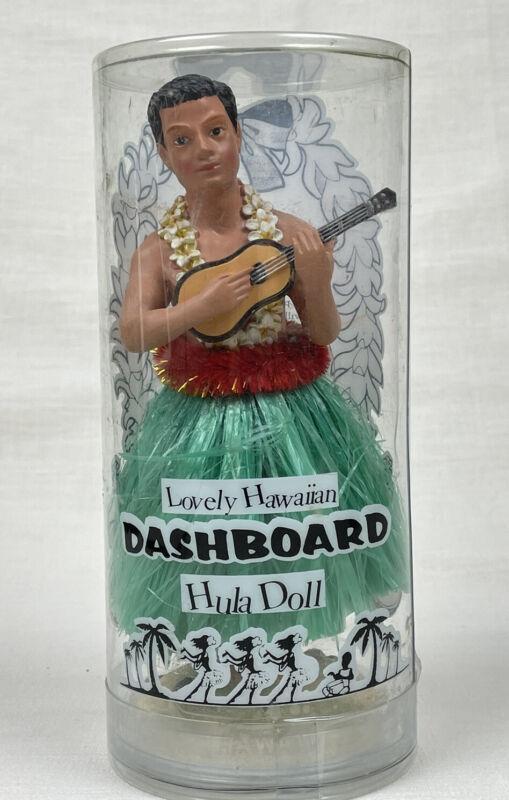 Lovely Hawaiian Dashboard Male Hula Doll