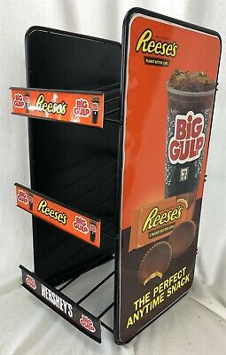 New 7 11 Retail Shelf Counter Top Candy Counter Display Rack Big Gulp Man Cave