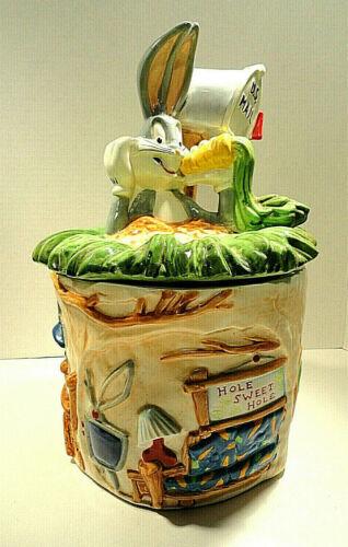 Bugs Bunny Cookie Jar 1996 Warner Brothers