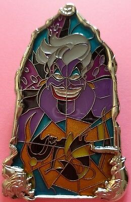 Disney Pin of the Month Windows of Evil The Little Mermaid Ursula LE 2000 (PP) - Mermaid Evil