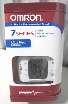 Omron 7 Series UltraSilent Wrist Blood Pressure Monitor BP652 - White