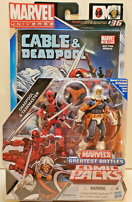 Marvel Universe Deadpool and Taskmaster 3.75, 2-pack, Authentic!!