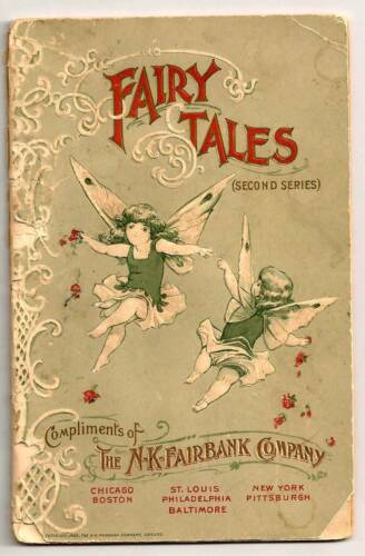 1898  Fairy Tales (Second Series)  The N-K-Fairbank Co. Fairy Soap Booklet