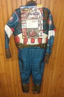 Marvel Captain America Boys Halloween Costume - Captain America Halloween Costume For Girls