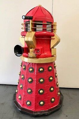 Dr Who Boys Costume (Supreme Dalek Dr. Who Tardis Costume Cosplay Prop Hand Made Cardboard Duct)