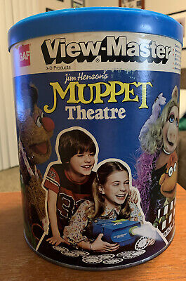 View-Master MUPPET Theatre PAK 1981 Extremely Rare Collectable Great Condition