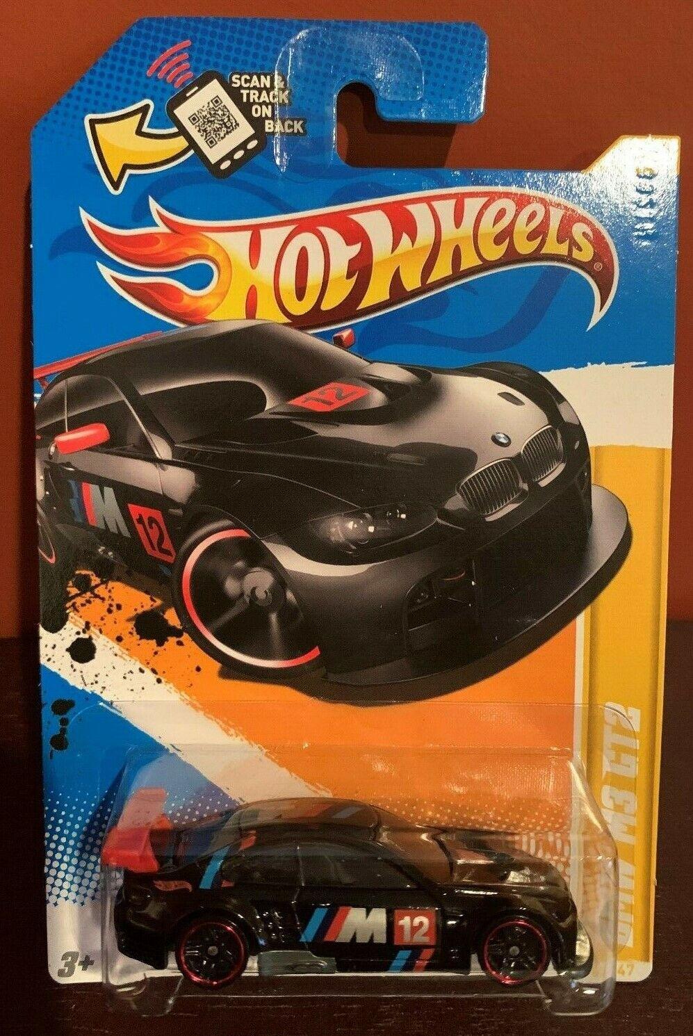 2012 Hot Wheels BMW M3 GT2 - 5/247 Black