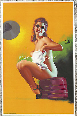 """1950's Earl Moran Pin-Up Poster Art Print """"Is My Face Red"""" 11x17 for sale  Portland"""