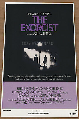 The Exorcist vintage  movie poster 11 x 17
