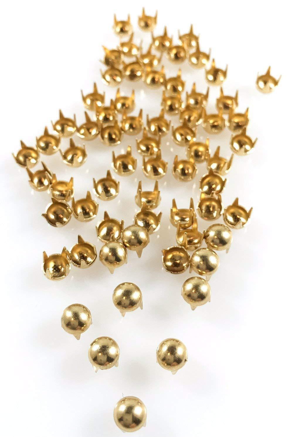 100pcs Rectangle Studs Spots Nailheads Pointes Pour Sacs Chaussures Bracelet 16x6mm