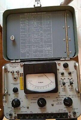 Vintage Telephone Repair Equipment Northeast Electronics Corp.current Testing