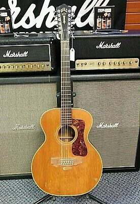 Vintage 1972 Guild F212 Jumbo 12-String Acoustic Guitar! Made In USA! NO RESERVE