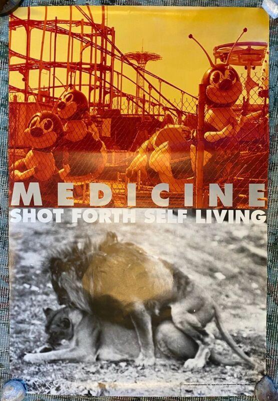 MEDICINE 24 x 36 Poster Shot Forth Self Living 1992 Def American Brad Laner