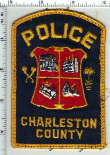 Charleston County Police (South Carolina) 3rd Issue Uniform Take-off Patch
