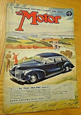 THE MOTOR Magazine. April 11th 1939. 'Ford V8 '30''. Temple Press. FREE POST. comprar usado  Enviando para Brazil