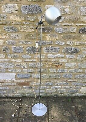 ORIGINAL VINTAGE DANISH STANDARD BUBBLE SPOTLIGHT FLOOR LAMP