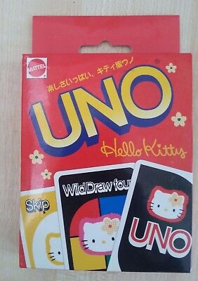 Vintage Sanrio Mattel Hello Kitty Uno 1997 New old stock Great for...