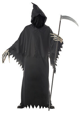Gothic Grim Reaper Deluxe Adult Halloween Costume