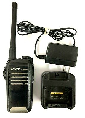 Hyt Tc-518v Portable Two-way Radio 136-174mhz With Battery Charger