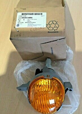 New Genuine Daewoo Chevrolet Spark Matiz Front LH Indicator Light lamp 96563486