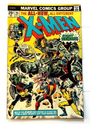 MARVEL COMICS 1975 X-MEN #96 1ST APPEARANCE MOIRA MCTAGGERT VF- OMEGA MUTANT