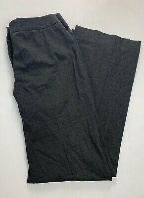Lafayette 148 4 Women's Pants Menswear Gray Slacks Trousers Suit Wear to Work Suiting Menswear Pant