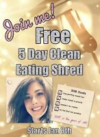 Free online 5 Day Clean Eating Group Challenge