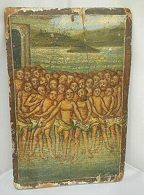 Icon - Religious Icon - Christian Icon - Forty Martyrs of Sebaste - Handmade