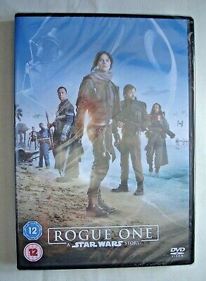 ROGUE ONE - A STAR WARS STORY - CERT.12 PAL 2017 DVD - NEW & SEALED