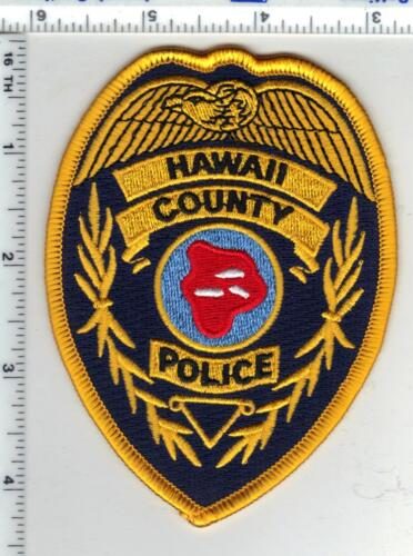Hawaii County Police Shoulder Patch - new from the 1980