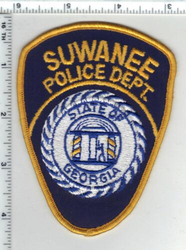 Suwanee Police (Georgia) Shoulder Patch from the 1980